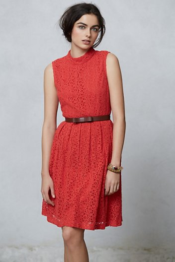 Angie Collared Dress by Anthropologie